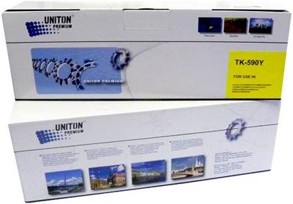 Картридж совместимый UNITON Premium TK-590Y желтый для Kyocera