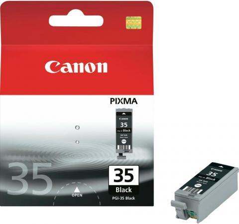 Картридж CANON PGI-35Bk черный оригинальный