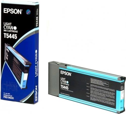 Картридж EPSON C13T544500 светло-голубой оригинальный