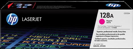 Картридж HP CE323A пурпурный оригинальный