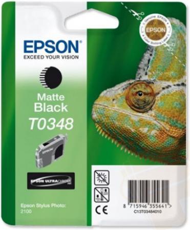 Картридж EPSON T034840 матовый черный оригинальный