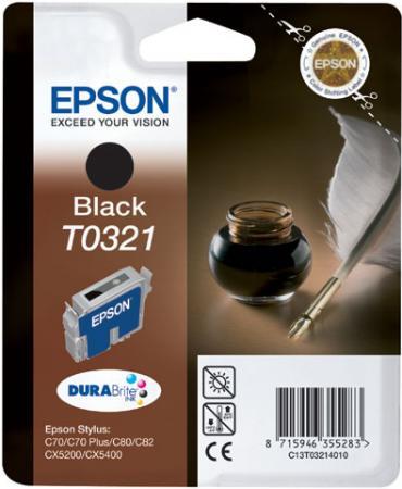 Картирдж EPSON T0321 черный совместимый Lomond
