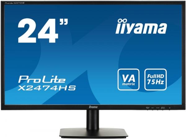 "Монитор 23.6"" iiYama X2474HS-B1 Black"