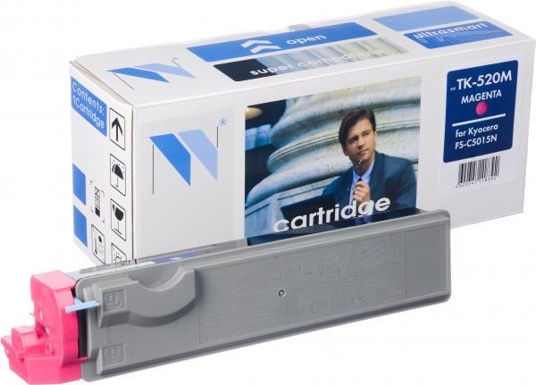 Картридж Kyocera TK-520M пурпурный совместимый NV Print