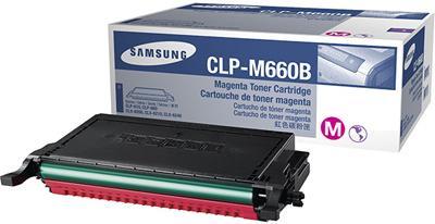 Картридж Samsung CLP-M660B пурпурный оригинальный