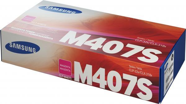 Картридж совместимый CLT-M407S пурпурный для Samsung