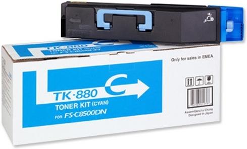 Картридж Kyocera TK-880C голубой оригинальный