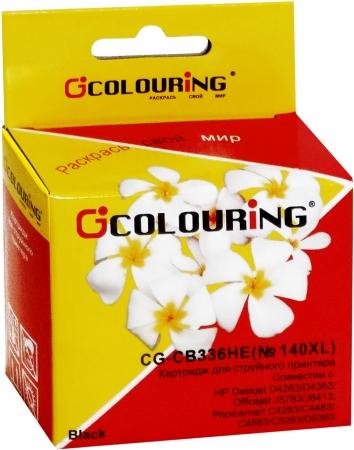 Картридж совместимый Colouring CB336HE №140XL для HP черный