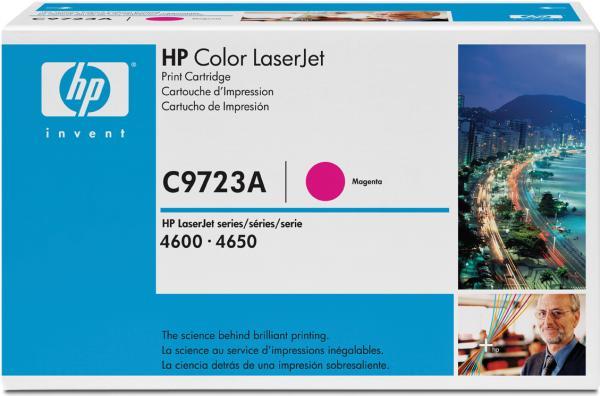 Картридж HP C9723A пурпурный оригинальный