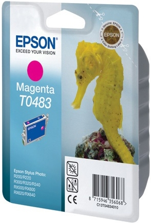 Картридж EPSON T0483 пурпурный оригинальный