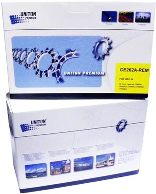 Картридж совместимый UNITON Premium CE262A желтый для HP