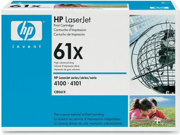 Картридж HP C8061X черный оригинальный