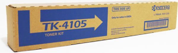 Тонер-картридж KYOCERA TK-4105, черный для TASKalfa 1800/2200/1801/2201