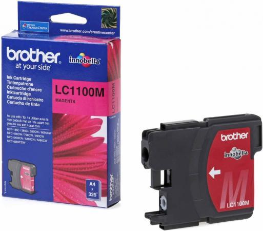 Картридж Brother LC1100M пурпурный оригинальный