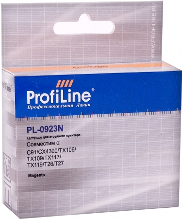 Картридж совместимый ProfiLine 0923N для Epson пурпурный