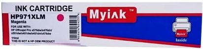Картридж совместимый MyInk CN627AE красный для HP