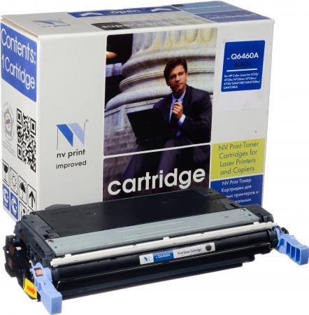 Картридж HP Q6460A черный совместимый NV Print