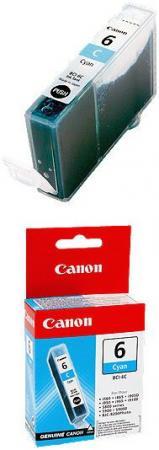 Картридж Canon 6С голубой совместимый InkTec
