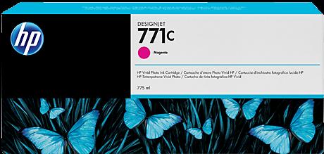 Картридж HP B6Y09A пурпурный оригинальный