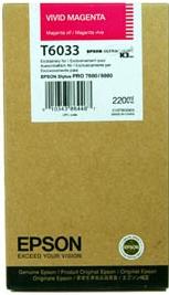 Картридж Epson C13T603300 пурпурный оригинальный