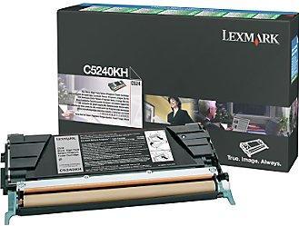 Картридж Lexmark C5240KH черный оригинал