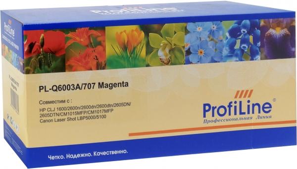 Картридж совместимый ProfiLine Q6003A/707 Magenta для HP