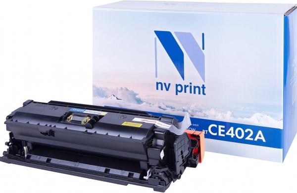 Картридж совместимый NVP CE402A желтый для HP