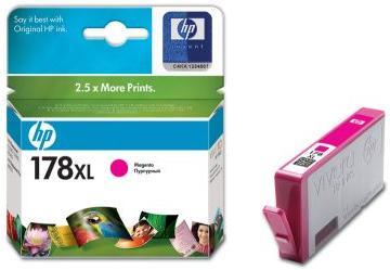 Картридж HP CB324HE пурпурный оригинальный