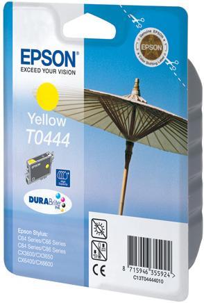 Картридж EPSON T044440 желтый совместимый LOMOND