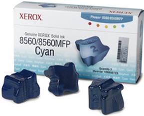 Чернила твердые XEROX Phaser 8560 (3 шт/уп.) голубые CNL