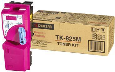 Тонер-картридж Kyocera TK-825M пурпурный оригинальный