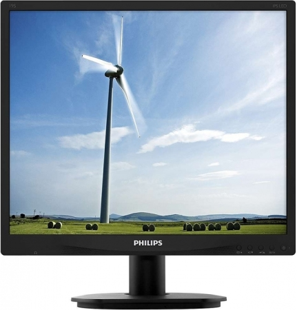 "Монитор 19"" Philips 19S4QAB/00/01 Black"