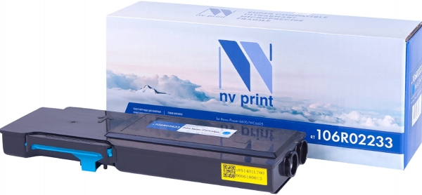 Картридж совместимый NVPrint 106R02233 для Xerox голубой