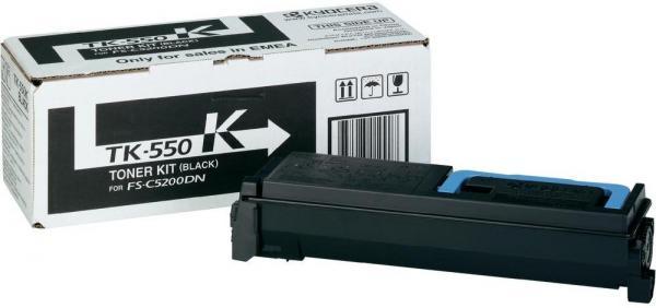 Картридж Kyocera TK-550K черный оригинальный