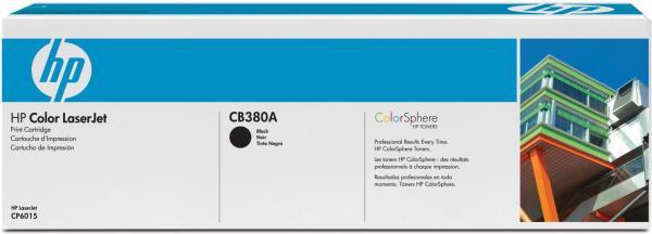 Картридж HP CB380A чёрный оригинал