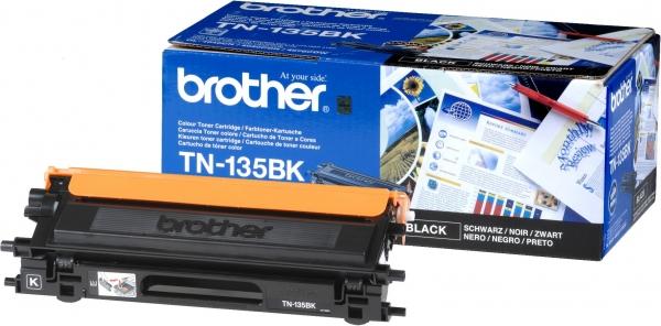 Картридж Brother TN-135BK черный оригинальный
