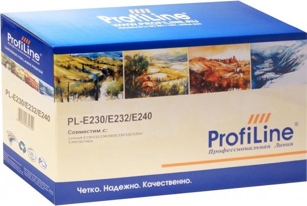 Картридж Lexmark E230/E232/E240 ProfiLine (совместимый)