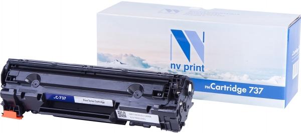 Картридж совместимый NVPrint 737 для Canon