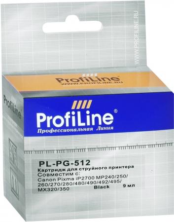 Картридж совместимый ProfiLine PG-512 для Canon