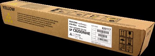 Принт-картридж SPC820DNHE для Ricoh желтый