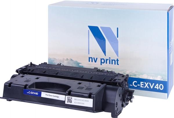 Картридж совместимый NVPrint C-EXV40X для Canon