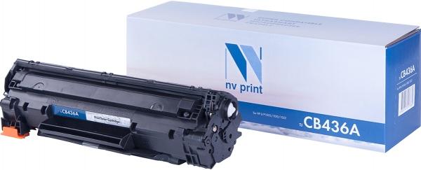 Картридж совместимый NVPrint CB436A для HP