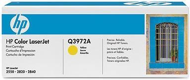 Картридж HP Q3972А желтый оригинальный