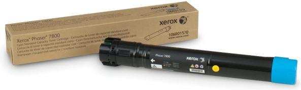 Картридж XEROX 106R01570 голубой оригинальный