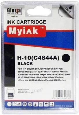 Картридж совместимый MyInk C4844A черный для HP