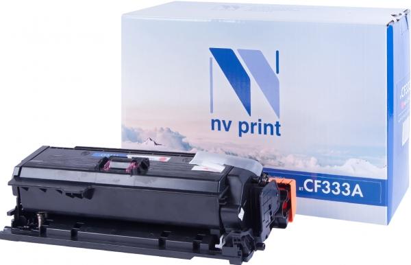 Картридж совместимый NVPrint CF333A для HP пурпурный
