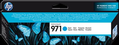 Картридж HP CN622AE голубой оригинальный