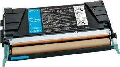 Картридж Lexmark C5242CH голубой оригинал