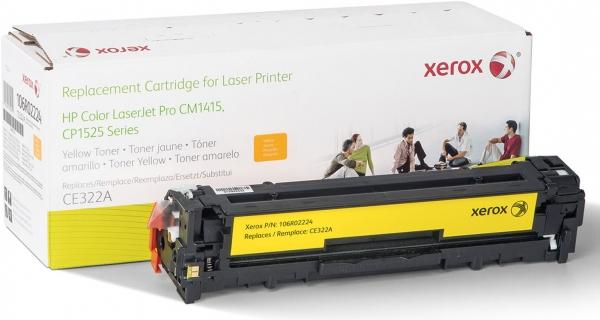 Картридж совместимый Xerox HVD CE322A для HP желтый