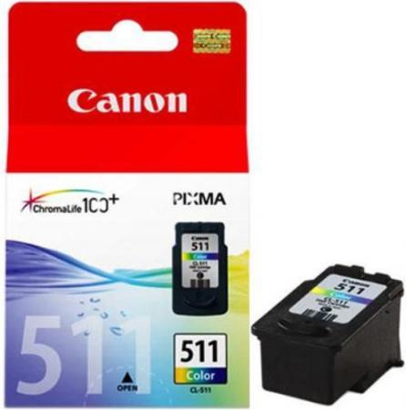 Картридж CANON CL-511 трехцветный оригинальный